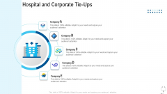 Healthcare Management Hospital And Corporate Tie Ups Ppt Icon Graphics PDF