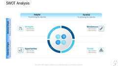 Healthcare Management SWOT Analysis Ppt Icon Summary PDF