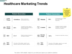Healthcare Marketing Trends Ppt PowerPoint Presentation Show Microsoft