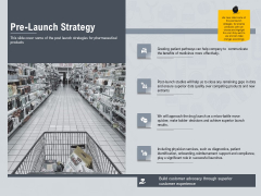 Healthcare Merchandising Pre Launch Strategy Guidelines PDF