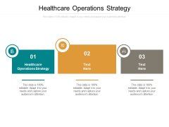 Healthcare Operations Strategy Ppt PowerPoint Presentation Portfolio Demonstration Cpb
