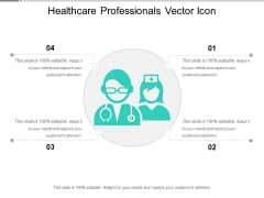 Healthcare Professionals Vector Icon Ppt PowerPoint Presentation File Example PDF