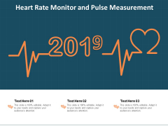 Heart Rate Monitor And Pulse Measurement Ppt PowerPoint Presentation File Slide