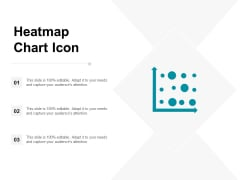 Heatmap Chart Icon Ppt PowerPoint Presentation Icon Background Designs