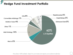 Hedge Fund Investment Portfolio Ppt Powerpoint Presentation Pictures Show