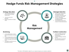 Hedge Funds Risk Management Strategies Contribution Ppt PowerPoint Presentation Infographic Template Example Topics