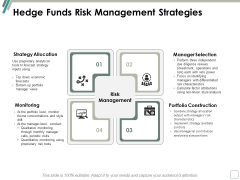 Hedge Funds Risk Management Strategies Ppt Powerpoint Presentation Infographic Template Examples