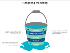 Hedgehog Marketing Ppt PowerPoint Presentation Gallery Clipart Cpb