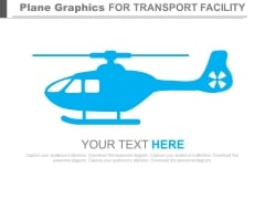 Helicopter Diagram For Business Vision PowerPoint Slides
