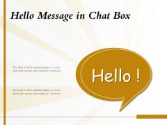 Hello Message In Chat Box Ppt PowerPoint Presentation Icon Graphic Tips PDF