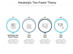 Herzbergs Two Factor Theory Ppt PowerPoint Presentation Infographic Template Icon Cpb Pdf