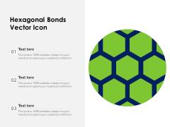 Hexagonal Bonds Vector Icon Ppt PowerPoint Presentation File Clipart PDF