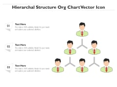 Hierarchal Structure Org Chart Vector Icon Ppt PowerPoint Presentation Model Sample PDF