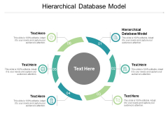 Hierarchical Database Model Ppt PowerPoint Presentation Show Slides Cpb