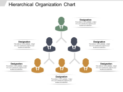 Hierarchical Organization Chart Ppt PowerPoint Presentation Ideas Skills