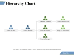 Hierarchy Chart Ppt PowerPoint Presentation Infographic Template Themes