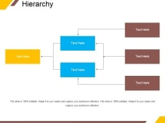 Hierarchy Ppt PowerPoint Presentation File Samples
