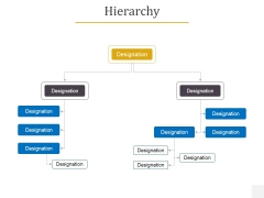 Hierarchy Ppt PowerPoint Presentation Gallery Show