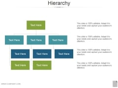 Hierarchy Ppt PowerPoint Presentation Ideas