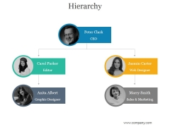 Hierarchy Ppt PowerPoint Presentation Images
