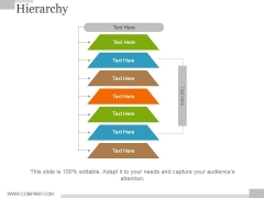 Hierarchy Ppt PowerPoint Presentation Layouts Graphics Tutorials