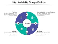 High Availability Storage Platform Ppt PowerPoint Presentation Gallery Information Cpb