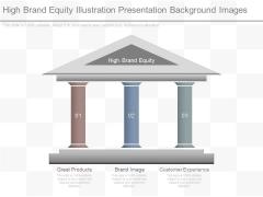 High Brand Equity Illustration Presentation Background Images