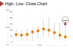 High Low Close Chart Ppt PowerPoint Presentation Layouts Visual Aids