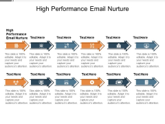 High Performance Email Nurture Ppt PowerPoint Presentation File Summary Cpb Pdf