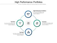 High Performance Portfolios Ppt PowerPoint Presentation Portfolio Ideas Cpb Pdf