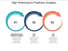 High Performance Predictive Analytics Ppt PowerPoint Presentation Microsoft Cpb