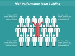 High Performance Team Building Ppt PowerPoint Presentation Icon Professional