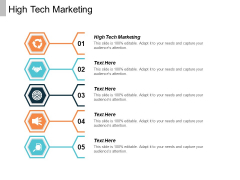 High Tech Marketing Ppt PowerPoint Presentation Summary Graphics Template Cpb