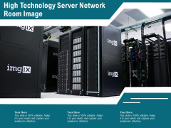 High Technology Server Network Room Image Ppt PowerPoint Presentation Gallery Guide PDF