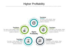 Higher Profitability Ppt PowerPoint Presentation Show Deck Cpb