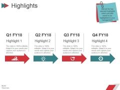 Highlights Ppt PowerPoint Presentation Ideas Slide Download