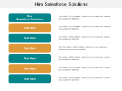 Hire Salesforce Solutions Ppt PowerPoint Presentation Summary Slide Download Cpb