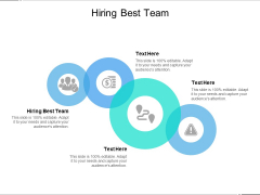 Hiring Best Team Ppt PowerPoint Presentation Outline Guidelines Cpb