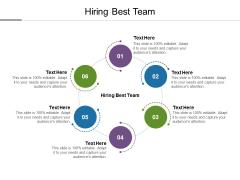 Hiring Best Team Ppt PowerPoint Presentation Slides Information Cpb