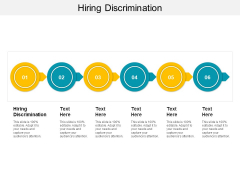 Hiring Discrimination Ppt PowerPoint Presentation Infographic Template Introduction Cpb