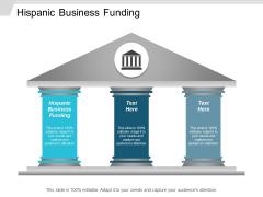 Hispanic Business Funding Ppt Powerpoint Presentation Slides Show Cpb