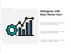 Histogram With Gear Vector Icon Ppt PowerPoint Presentation Professional Slides Cpb