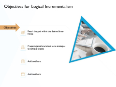 Hit And Trial Approach Objectives For Logical Incrementalism Ppt File Sample PDF