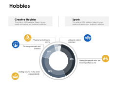 Hobbies Management Ppt Powerpoint Presentation Infographic Template Graphics Pictures
