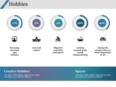 Hobbies Ppt PowerPoint Presentation Infographics Format