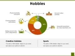 Hobbies Ppt PowerPoint Presentation Show Templates