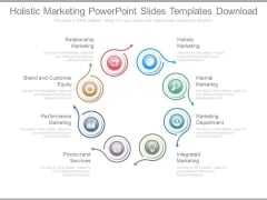 Holistic Marketing Powerpoint Slides Templates Download