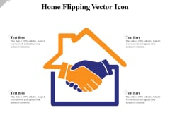 Home Flipping Vector Icon Ppt PowerPoint Presentation File Backgrounds PDF