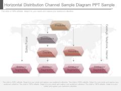 Horizontal Distribution Channel Sample Diagram Ppt Sample