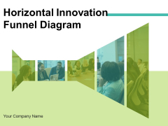 Horizontal Innovation Funnel Diagram Marketing Optimization Ppt PowerPoint Presentation Complete Deck